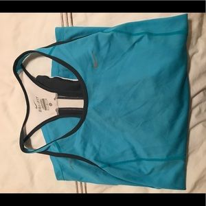 Nike Tops - Nike Blue Loose Workout Top - Size M
